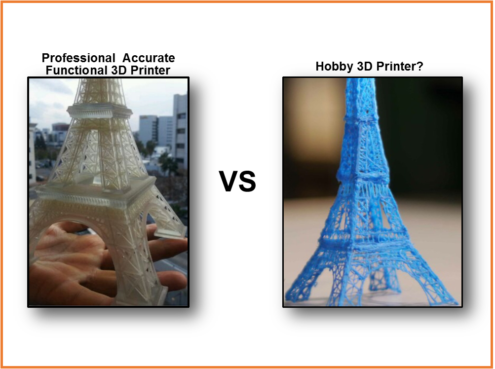 Hobbyvs Professional 3d Printing